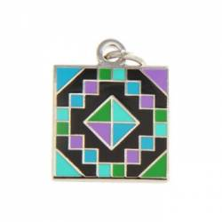 Quilt Charm Jewel Box