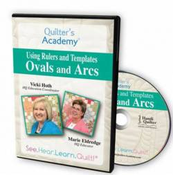 Quilters Academy Ovals And Arcs DVD