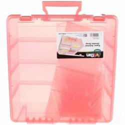 ArtBin Super Satchel Deluxe Double Deep *CORAL*