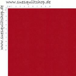 023 Kona Cotton RICH RED, RÜCKSEITENSTOFF überbreit, uni