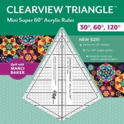 Clearview Triangle Mini Super 60 Ruler