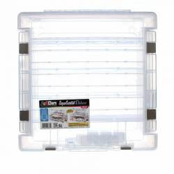 ArtBin Super Satchel geteilte Box oben/unten plus 2 Seitenfächer mit Einteilung