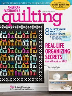 American Patchwork & Quilting No. 144 February 2017