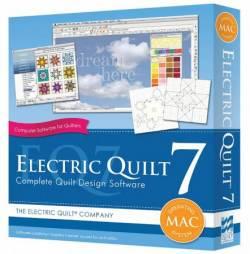 Electric Quilt 7 Vollversion FÜR MAC >>>> versandkostenfrei innerhalb der BRD <<<<