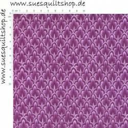 Benartex Kimikos Chinoiserie Ornamente violett