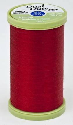 Coats Handquiltgarn Dual Duty Plus ca. 297 m, Fb. 2250 Red, rot