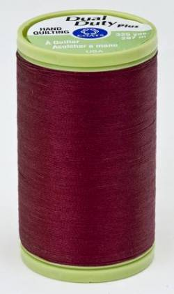 Coats Handquiltgarn Dual Duty Plus ca. 297 m, Fb. 2820 Barberry Red