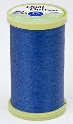 Coats Handquiltgarn Dual Duty Plus ca. 297 m, Fb. 4470 Yale Blue