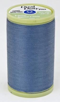 Coats Handquiltgarn Dual Duty Plus ca. 297 m, Fb. 4640 graublau