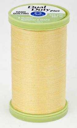 Coats Handquiltgarn Dual Duty Plus ca. 297 m, Fb. 7330 Yellow, gelb