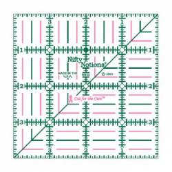 Cut For The Cure 4x4 inch Ruler