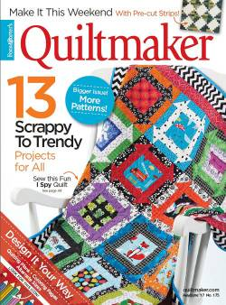 Quiltmaker No. 175 May/June 2017