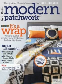 Modern Patchwork  May/June 2017