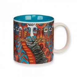 Laurel Burch Gatos Mug Kaffeebecher