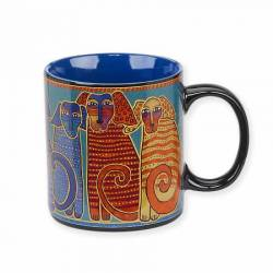 Laurel Burch Canine Friends Kaffeebecher