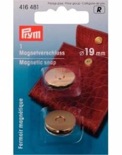 Magnetverschluss ca. 19 mm gold