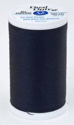 Dual Duty XP Polyester Thread 500yds Navy