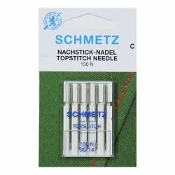 Schmetz Nähmaschinennadeln Topstitch  #90 5er Pack