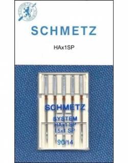 Schmetz Nähmaschinennadeln Super Stretch #90 - 5er Pack