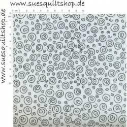 Henry Glass Stitches of Love White Swirl