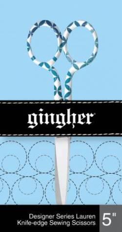 Gingher Designer Nähschere 5 inch Design Lauren