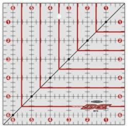 The Cutting Edge Sharpening Edge Ruler   6.5x6.5 inch