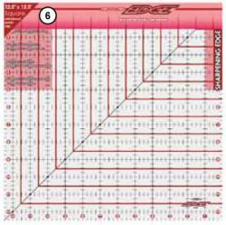 The Cutting Edge Sharpening Edge Ruler 12.5x12.5 inch