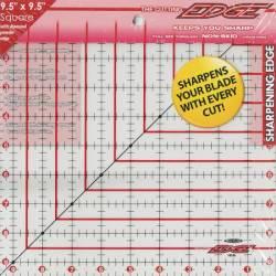 The Cutting Edge Sharpening Edge Ruler   9.5x9.5 inch