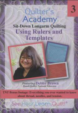 Quilters Academy DVD Featuring Debby Brown 3 Using Rulers & Templates
