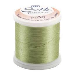 YLI Seidengarn #100/2, 200 m, Fb. 218 pudergrün