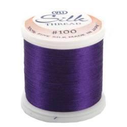 YLI Seidengarn #100/2, 200 m, Fb. 244 dunkles violett