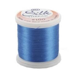 YLI Seidengarn #100/2, 200 m, Fb. 207 elektrisch blau