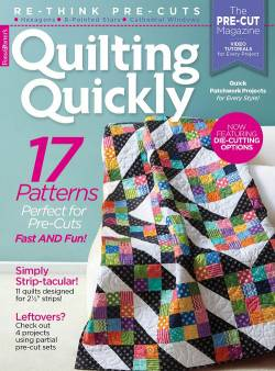 Quilting Quickly May/June 2017