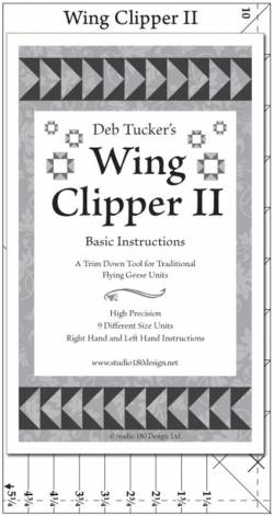 Deb Tuckers Flying Geese Lineal Wing Clipper II