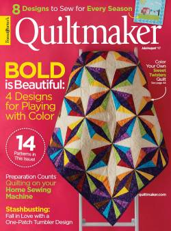 Quiltmaker No. 176       July/August 2017