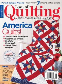 Fons And Porters Love of Quilting No. 130 July/August 2017