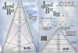 Wedge Ruler Jewel Box 10/5