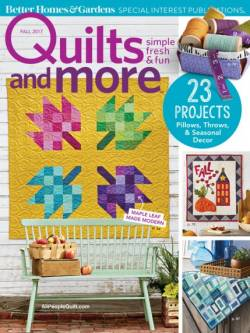 Quilts And More  Fall 2017