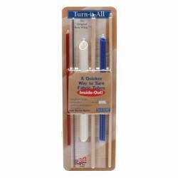 Turn-it-All Hand Held Sewing Tool 3 Sizes, Wendewerkzeug für Stoffschläuche, Puppenteile usw.
