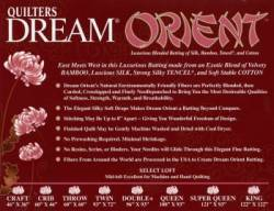 Dream Orient Select Queen Size 93 x 108 inch Bambusvlies