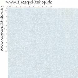 Makower Essentials White Scroll Schnörkel weiss auf weiss