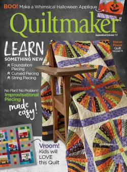 Quiltmaker No. 177 September/October 2017
