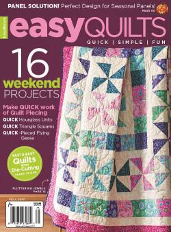 Easy Quilts    Fall 2017