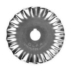 Olfa Ersatzklinge für Rollschneider Zacke 45 mm