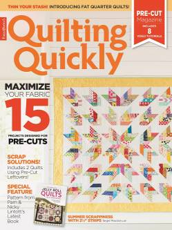 Quilting Quickly     July/August 2017