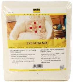 Freudenberg Soya-Mix 50/50 Soja/BW natur Queen Size ca. 225 x 275 cm, SB Packung