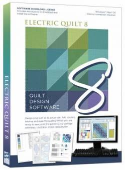 Electric Quilt 8 EQ8 Vollversion >>> versandkostenfrei innerhalb der BRD <<<<