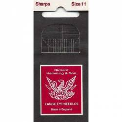 Hemming Applikationsnadeln Sharps No. 11