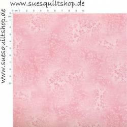 Robert Kaufman Fusions Baby Pink Tonal Leaves Blätter babyrosa