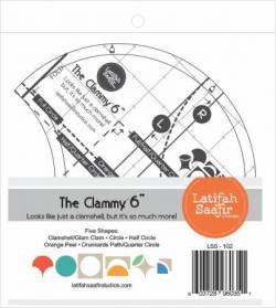 Acrylschablone Clammy  6 inch Clamshell